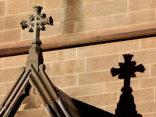 The Catholic Church denied police claims it talks victims out of reporting sexual abuse. (AAP)