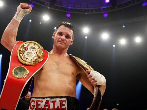 Daniel Geale has become the first Australian boxer to unify two major titles in the same division. (AAP)
