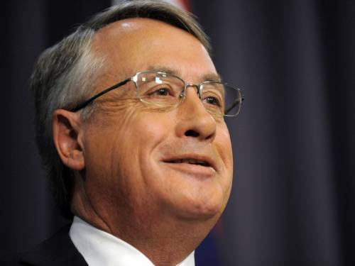Wayne Swan says Australia's new standing as the world's 12th largest economy is remarkable. (AAP)