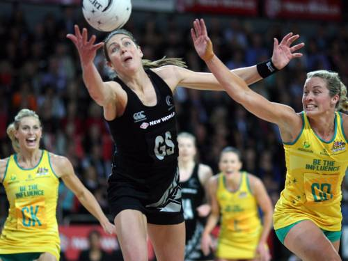 New Zealand held off a spirited Australian comeback to win the Constellation Cup 50-49. (AAP)