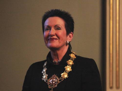 Clover Moore has high hopes of retaining her job as Lord Mayor of Sydney. (AAP)