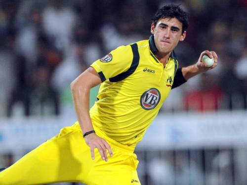 In-form paceman Mitchell Starc may be rested for Australia's opening T20 match against Pakistan. (AAP)