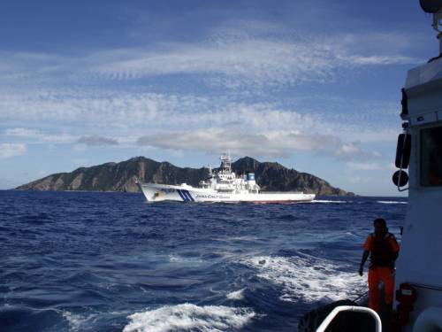 China has sent two patrol ships to a group of islands at the centre of a territorial row with Japan. (AAP)