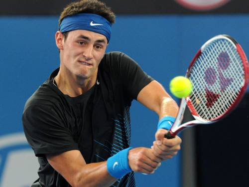 Australian Bernard Tomic (pic) will face Roger Federer in the third-round of the Cincinnati Masters. (AAP)