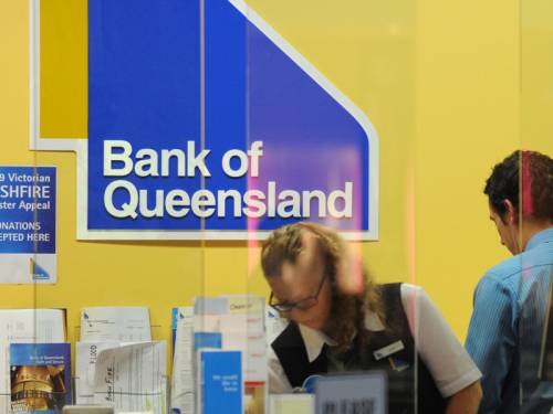 Bank of Queensland warned it may post the first full year loss by an Australian bank in 20 years. (AAP)