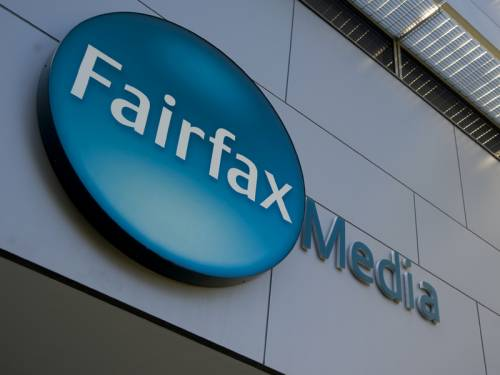 Fairfax's chairman says the ailing media company won't rule out any options to revive the business. (AAP)