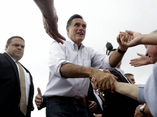 US presidential hopeful Mitt Romney (pic) has vowed to fight to the finish against Barack Obama. (AAP)