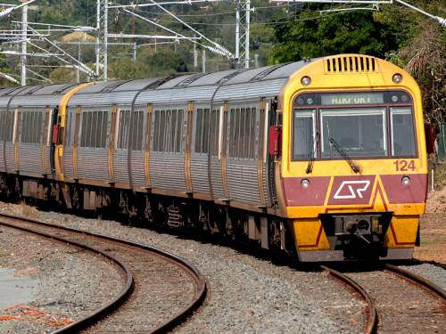 Safety concerns sparked the emergency suspension of train services in Queensland's central west. (AAP)