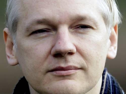 Former computer hacker Assange, 41, walked into the London embassy on June 19 seeking asylum in a bid to avoid extradition to Sweden, where he faces questioning over alleged rape and sexual assault. (AAP)