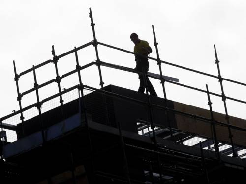 Confidence is down in the property and construction sector, according to a private study. (AAP)