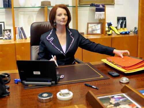 PM Julia Gillard says she won't be revisiting the saga of how she came to power in June 2010. (AAP)