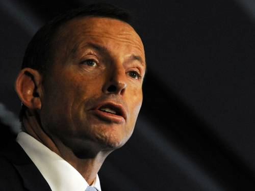 In late June, Mr Abbott agreed to a request from Liberal MPs to amend the coalition's position in parliament's lower house to include boosting Australia's refugee intake to 20,000. (AAP)