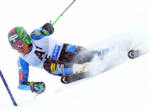 American Ted Ligety has won the men's first World Cup giant slalom of the season. (AAP)