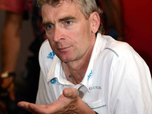 Team Sky cycling team director Sean Yates has quit amid claims over an involvement in doping. (AAP)