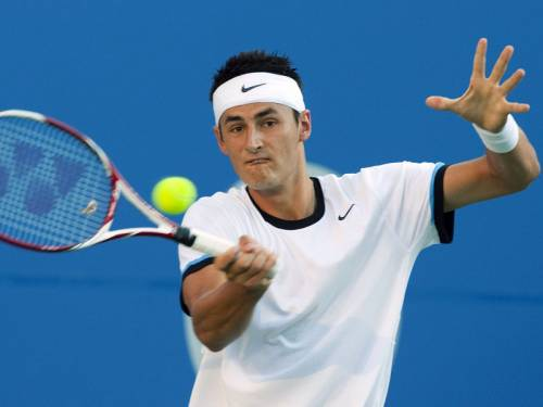 Bernard Tomic has moved into the third round of the Cincinnati Masters with a straight-sets win. (AAP)