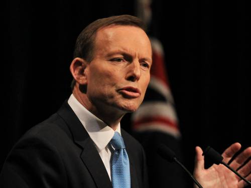Tony Abbott wants to change the Race Discrimination Act. (AAP)