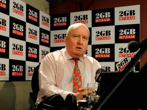 2GB has suspended all advertising on Alan Jone's show following his comments about PM'S father. (AAP)