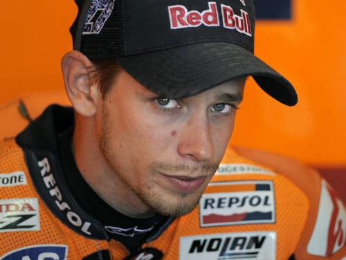 Australian MotoGP rider Casey Stoner will miss the Czech Grand Prix on Sunday with an ankle injury. (AAP)