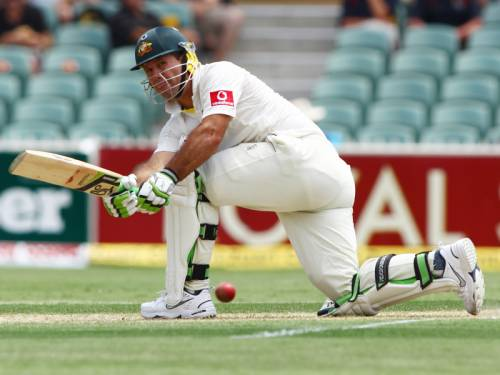 Ricky Ponting has pulled out of Tasmania's Sheffield Shield match due to a hamstring problem. (AAP)