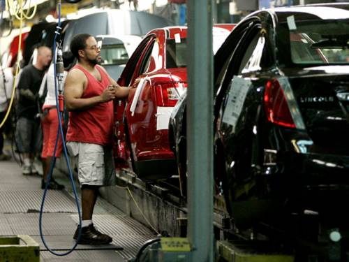 Industrial production in the US rose 0.6 per cent in July, says the Federal Reserve. (AAP)
