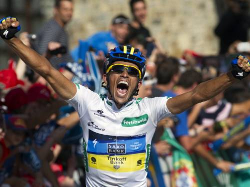 Alberto Contador has taken the overall lead of the Tour of Spain after winning the 17th stage. (AAP)
