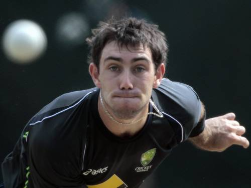 Australian all-rounder Glenn Maxwell isn't a certainty for their World Twenty20 semi-final. (AAP)