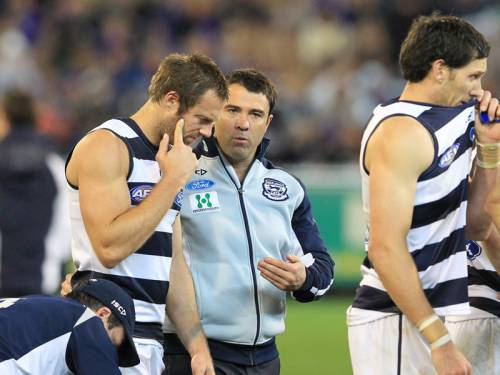 Geelong coach Chris Scott expects his Cats to keep contending despite an early finals finals exit. (AAP)