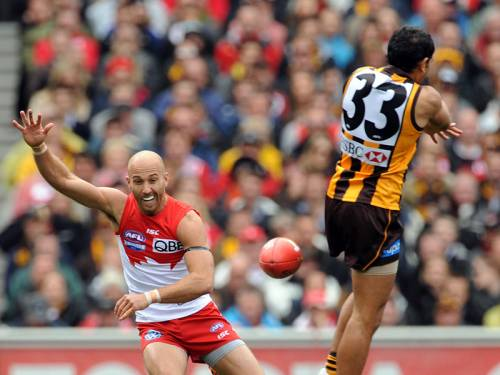 Hawthorn and Sydney will both line up as selected for Saturday's AFL grand final. (AAP)
