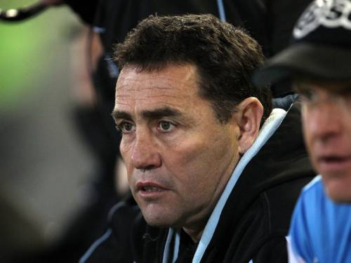 Cronulla coach Shane Flanagan says they can win the NRL premiership from outside the top four. (AAP)