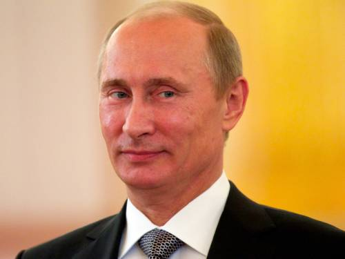 Russian President Vladimir Putin has celebrated his 60th birthday with low-key festivities. (AAP)