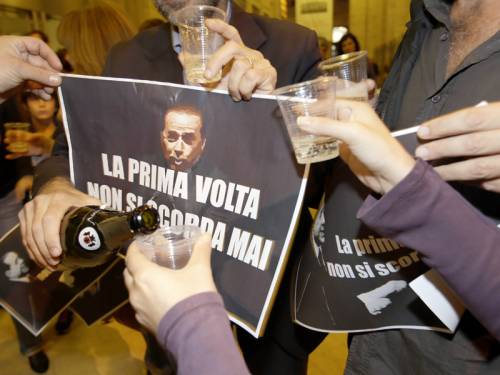 Italy's media tycoon and former PM Silvio Berlusconi has been sentenced to jail for tax fraud. (AAP)