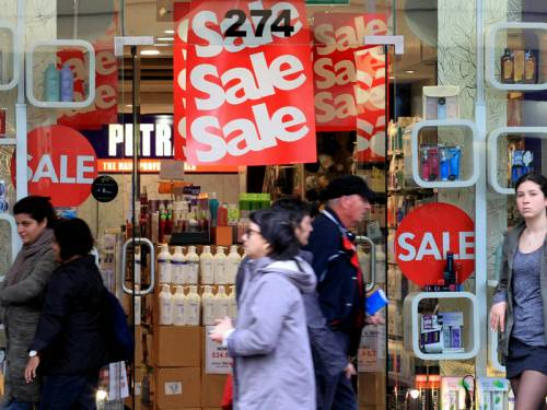 Australian retail spending rose a weaker than expected 0.2 per cent in August, ABS figures show. (AAP)