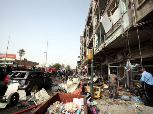 Bombings and attacks killed 23 people across Iraq amid a new al-Qaeda offensive during Ramadan. (AAP)