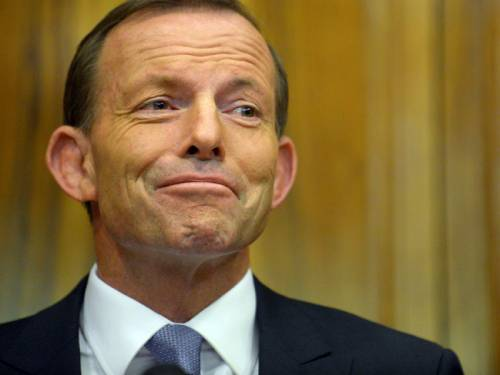Labor MPs say the latest Newspoll suggests Opposition Leader Tony Abbott has run out of puff. (AAP)