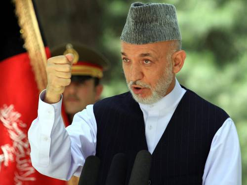 Karzai's office condemned an operation by international troops to go after the shooter, describing it as unilateral and saying it resulted in the deaths of a 70-year-old man and his 30-year-old son. (AAP)
