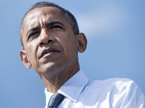Obama also led a Gallup daily tracking poll by six per cent and is up in the top nine battleground states, according to averages of recent polling the RealClearPolitics website. (AAP)