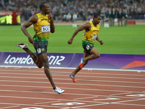 Jamaican sprint stars Usain Bolt and Yohan Blake will start 2013 with the Camperdown Classic. (AAP)