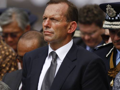 Opposition Leader Tony Abbott says he won't lecture Indonesia over its stance on asylum seekers. (AAP)