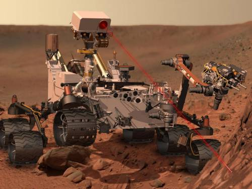 Like Mars rovers before it, Curiosity carries a weather station to take daily temperature and pressure readings and record seasonal changes. (AAP)