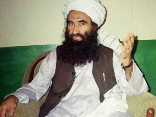 Jalaluddin Haqqani, founder of the militant group the Haqqani network. (File: AAP)