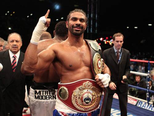 David Haye (pic) has won his boxing grudge match with Dereck Chisora. (AAP)