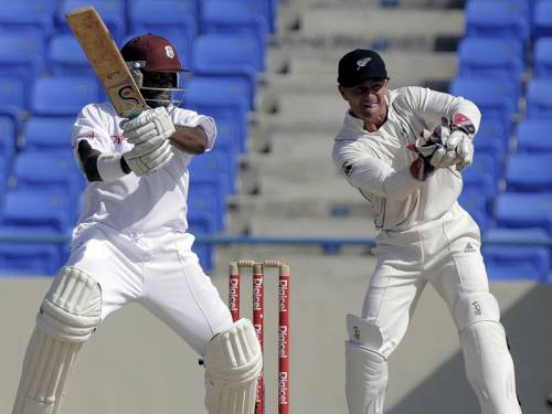 The West Indies thumped New Zealand in the first Test after a second innings Black Caps collapse. (AAP)