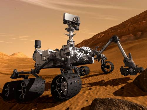 A NASA robot named Curiosity is due to land on Mars after a journey that has taken almost a year. (AAP)