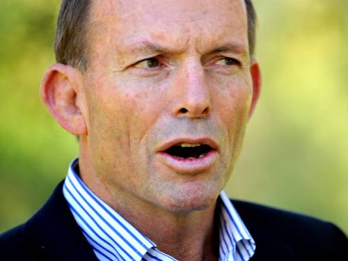 Opposition Leader Tony Abbott says the government won't be able to meet its school funding promises. (AAP)