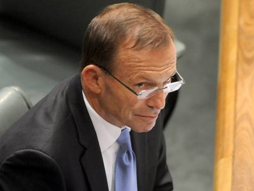 Opposition Leader Tony Abbott says the government's Asian white paper lacks specific detail. (AAP)