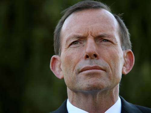 Opposition Leader Tony Abbott says violent scenes in Sydney are not representative of Islam. (AAP)