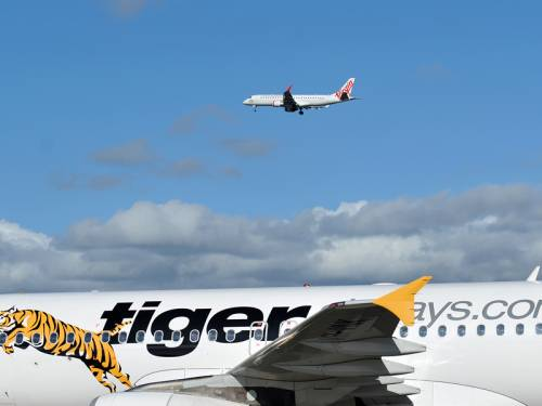 Virgin Australia's buy into Tiger Airways will increase Tiger's fleet to 35 aircraft by 2018. (AAP)