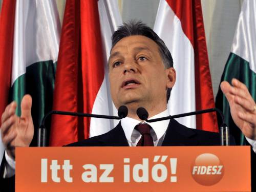 The Hungarian prime minister has used Facebook to unfriend the International Monetary Fund. (AAP)