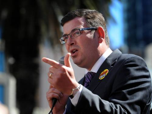 Victorian Opposition leader Daniel Andrews has asked police to investigate embattled MP Geoff Shaw. (AAP)