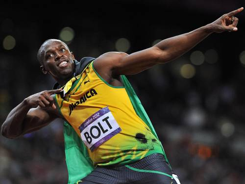 Sprint superstar Usain Bolt is worried that long jumping could leave him prone to more injuries. (AAP)